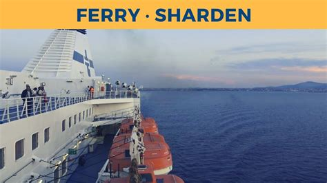 tirrenia porto torres passage ferry sharden porto torres genova tirrenia