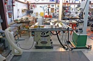 woodshop garage workstations
