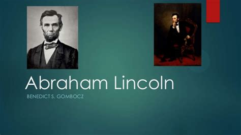 abraham lincoln biography presentation powerpoint abraham lincoln