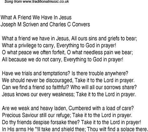 song for a friend what a friend we in jesus christian gospel song