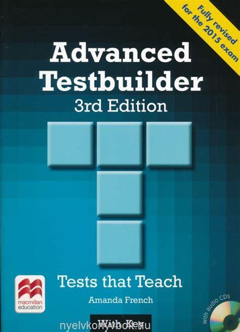 expert advanced 3rd edition 1447961986 advanced testbuilder 3rd edition with audio cds with key nyelvk 246 nyv forgalmaz 225 s nyelvk 246 nyvbolt