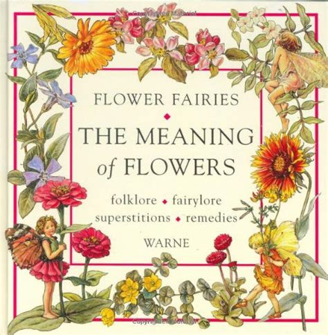 the meaning of books flower fairies fairies faeries fey by cicely barker