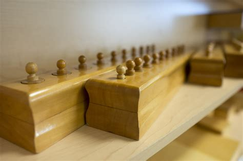 understanding montessori materials the knobbed cylinders