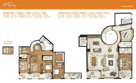 town home plans st tropez townhome floorplans