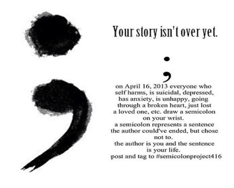 project semicolon empowering through love