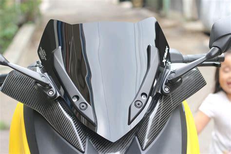 jual windshield visor yamaha xmax  cover  lapak