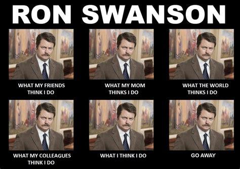 ron swanson meme ron swansonisms pinterest