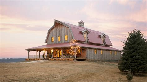 gambrel barn homes barn wood home great plains gambrel barn home project rsm1112 photo gallery