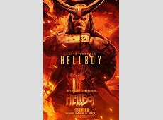 Hellboy Movie Character Posters : Teaser Trailer Good Sorceress
