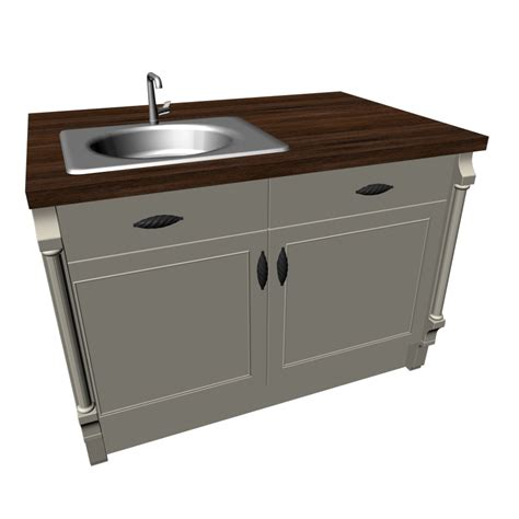 kitchen island with sink design and decorate your room in 3d