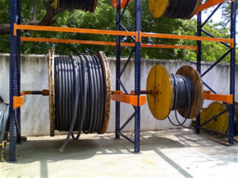 Cable Drum Racking Systems by Cable Drum Racking