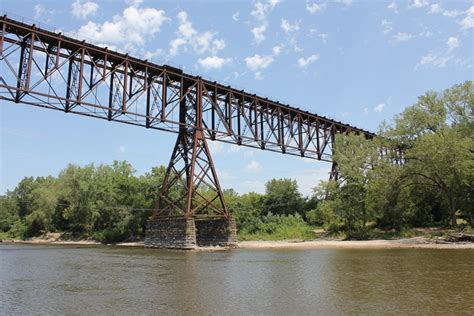 terror bridge fort dodge iowa pier types for track cantilever steel truss bridges