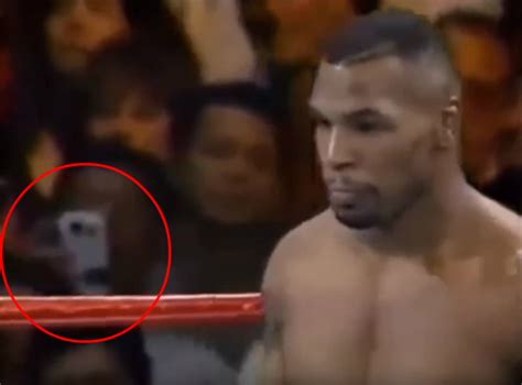 Mike Tyson Wants To Fight A In The Ring by Did Time Traveller 1995 Mike Tyson Fight On A