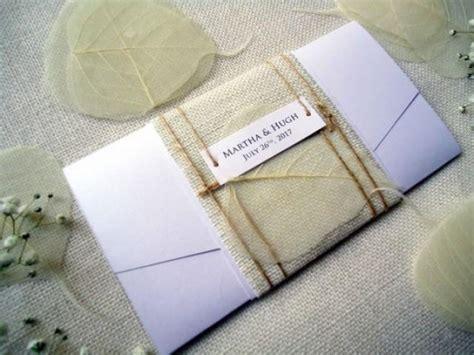 Unique Pocket Wedding Invitations by Pocket Wedding Invitations Burlap Invitations Rustic