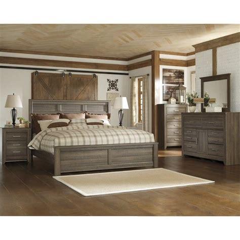 Furniture Juararo King Bedroom Set by Signature Design By Furniture Juararo Panel Bed In
