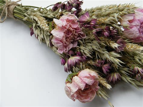 Bloom Box Preserved Flower Uk 10 X10 Cm Beautiful Dried Flowers For Crafts Uk