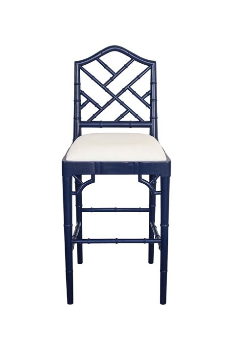 Chippendale Counter Stools by Chippendale Counter Stool Navy Abide Interiors