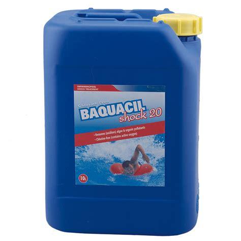 miami pool baqua shock 10 liter produktguiden