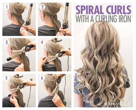 how to curl your hair 6 different ways to do it hair hair how to curl your hair