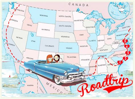 road trip maps of the usa week on the east coast usa roadtrip the the