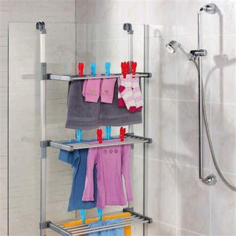 stendibiancheria per doccia accessori salva spazio per il bagno