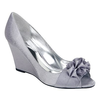 silver wedding shoes wedges silver wedge at rack room shoes meg s wedding