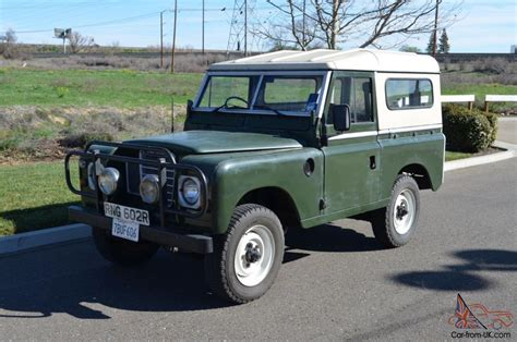 1975 land rover 1975 land rover series iii 88