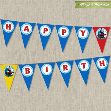 thomas and friends printable birthday banner 56 best images about thomas friends on pinterest