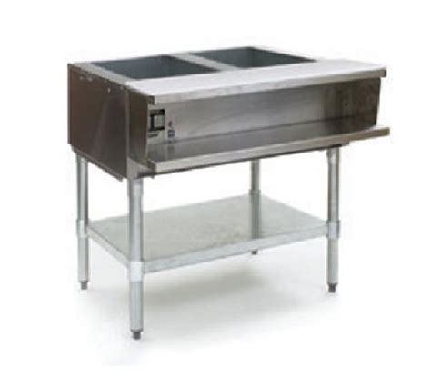 used steam table eagle wt2 2 well electric steam table w galvanized