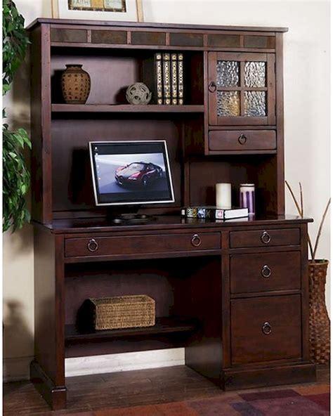 santa fe desk santa fe single pedestal desk w hutch by designs su