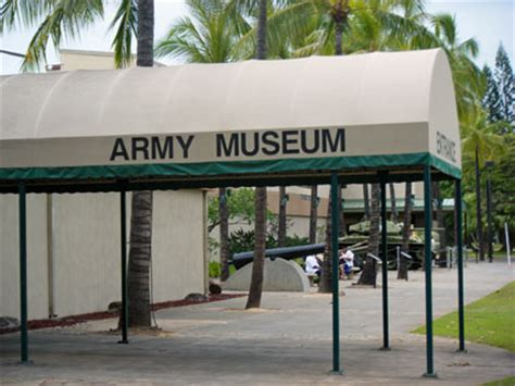 Any Approaching Enemy army museum at fort derussy in honolulu