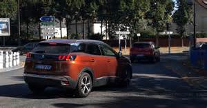 new crossover cars new peugeot 3008 crossover 2017 cars spotter