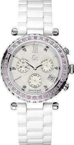 Guess 3chrono White guess collection chrono white ceramic