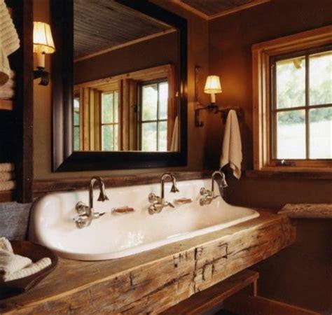 waschbecken rustikal rustikale badm 246 bel ideen das badezimmer im landhausstil