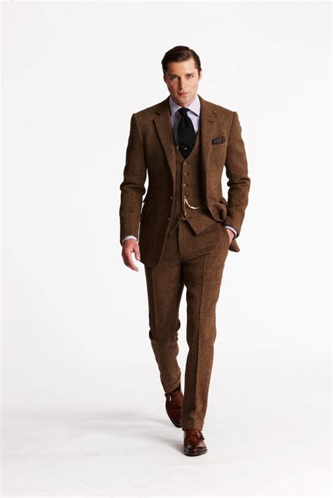 Brilante Mans Black Brown or for the groom brown suit amos and boris wedding ralph summer and suits
