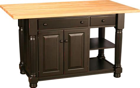amish kitchen islands amish kitchen island with turned legs