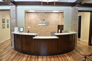 office tour kingwood orthodontics - Front Office Desk