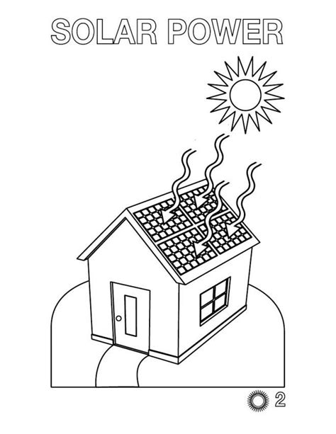 Solar Energy Coloring Pages energy coloring pages az coloring pages
