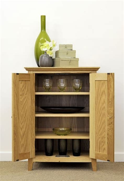 mumford solid oak furniture hallway shoe storage cupboard
