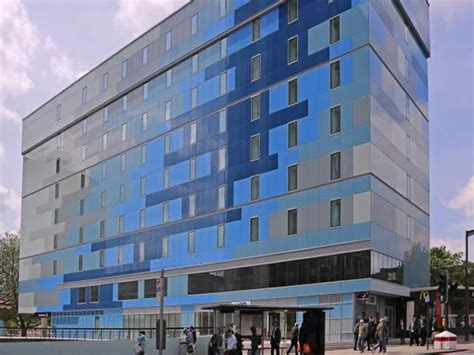 premier inn eye sto glass facade solution helps create new archway