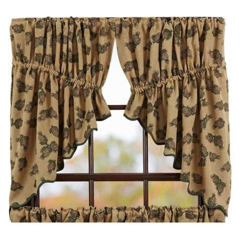 printed burlap curtains 31 best primitive country inspired prairie swags images