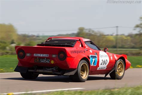 Lancia Stratos 2013 Lancia Stratos Iv 2013 Tour Auto