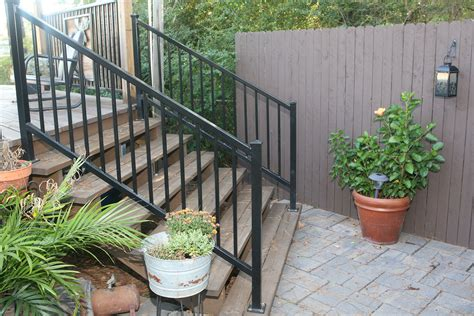 Outdoor Banister Railing by Image Gallery Outdoor Handrails