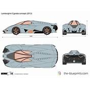 The Blueprintscom  Vector Drawing Lamborghini Egoista