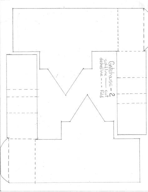 make a paper and cardboard castle neuschwanstein page 2