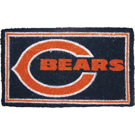 Mat Exchange by Evergreen Nfl Chicago Bears Welcome Mat Nfl Fan Cave