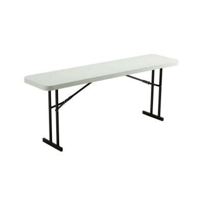 6 folding table home depot lifetime 6 ft folding seminar and conference table in