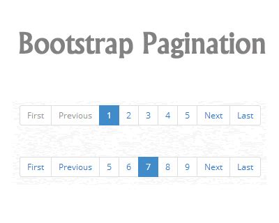 bootstrap table pagination jquery jquery pagination plugin for bootstrap jquery plugins