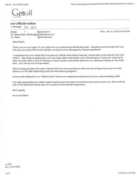 Sle Landlord Reference Letter Australia thank you letter to landlord sle 28 images