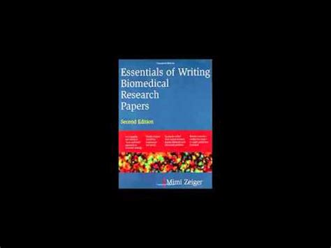 essentials of writing biomedical research papers essentials of writing biomedical research papers